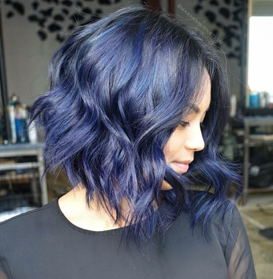 makeup, fashion, curles and purple hair