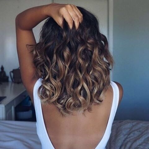 highlights hair, curles, beautifull and fashion