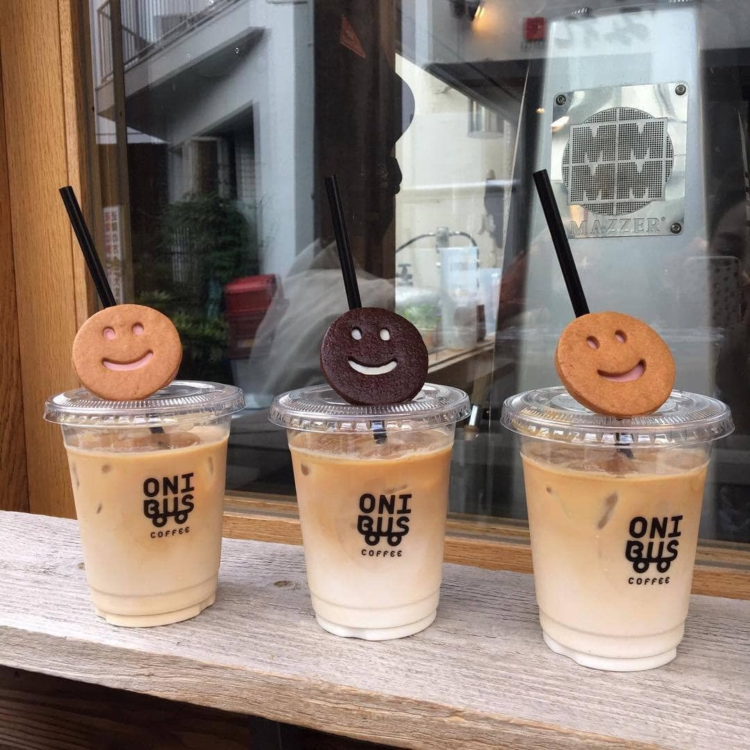 cappucino, smilies, cafe and ice coffee