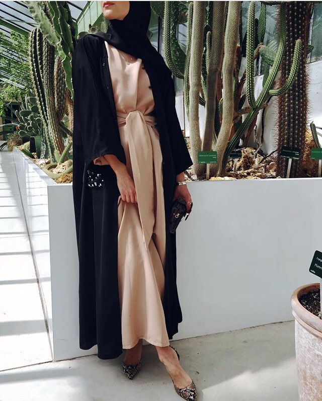 abaya, inspiration, maxi dress and modest