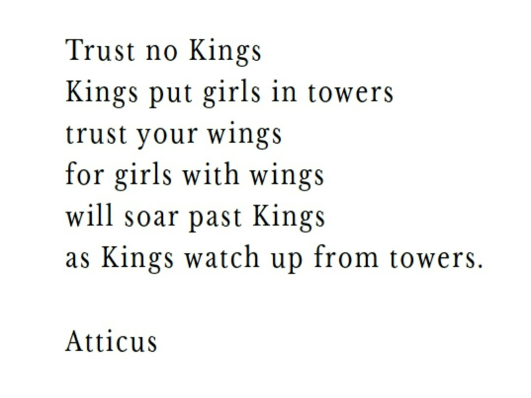 quotes, atticus and poetry