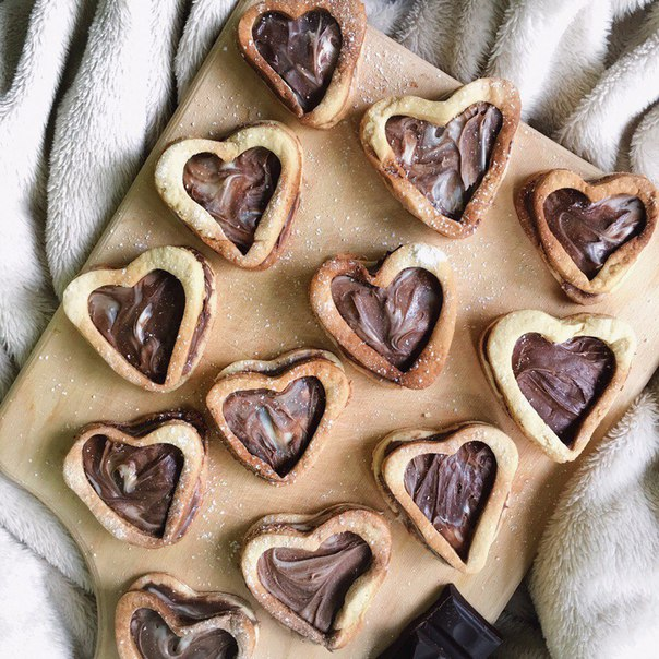 snacks, we heart it, bakery and nutella