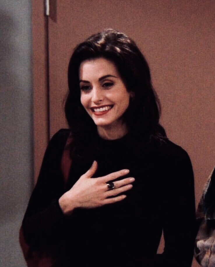 90's, monica geller, 00's and icons