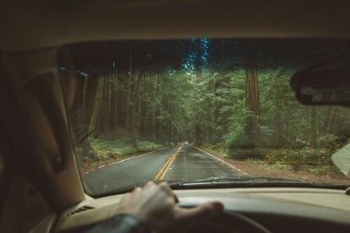 aesthetic, driving, grunge and hipster