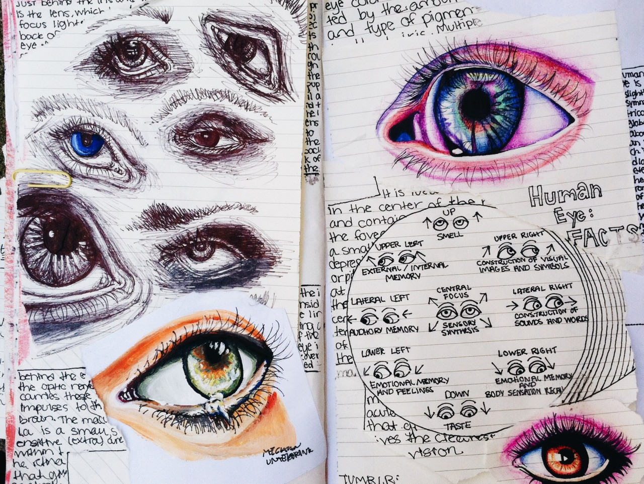 art, drawing, grunge and journal