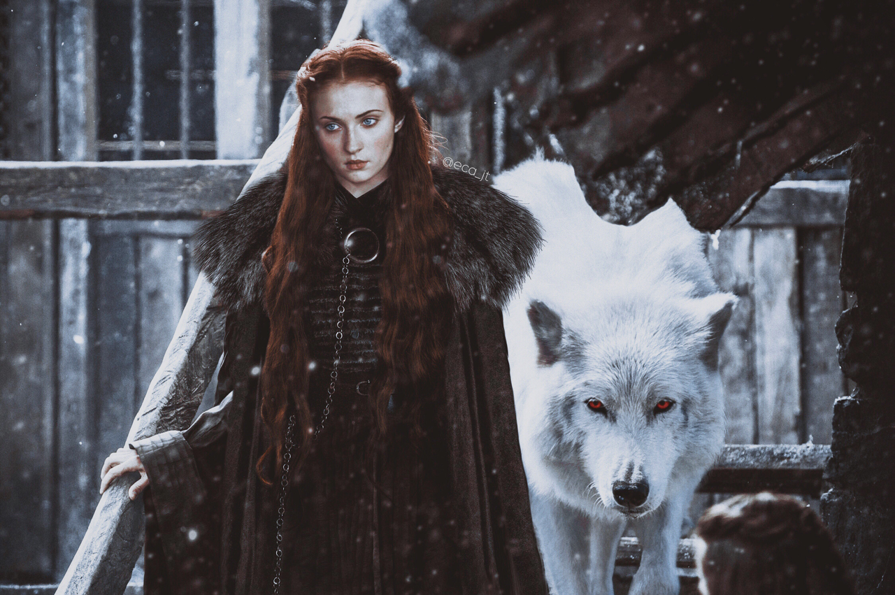love, jönsa, game of thrones and sophie turner