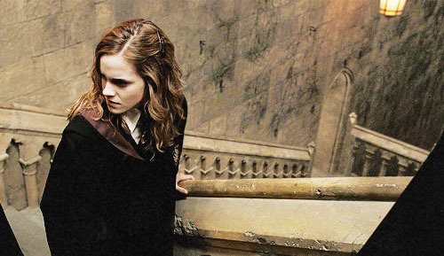 emma watson, hermione granger and harry potter
