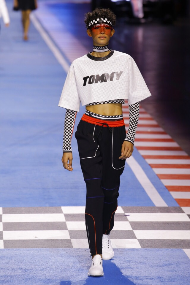 fashion show, gigi hadid, tommy hilfiger and tommy x gigi