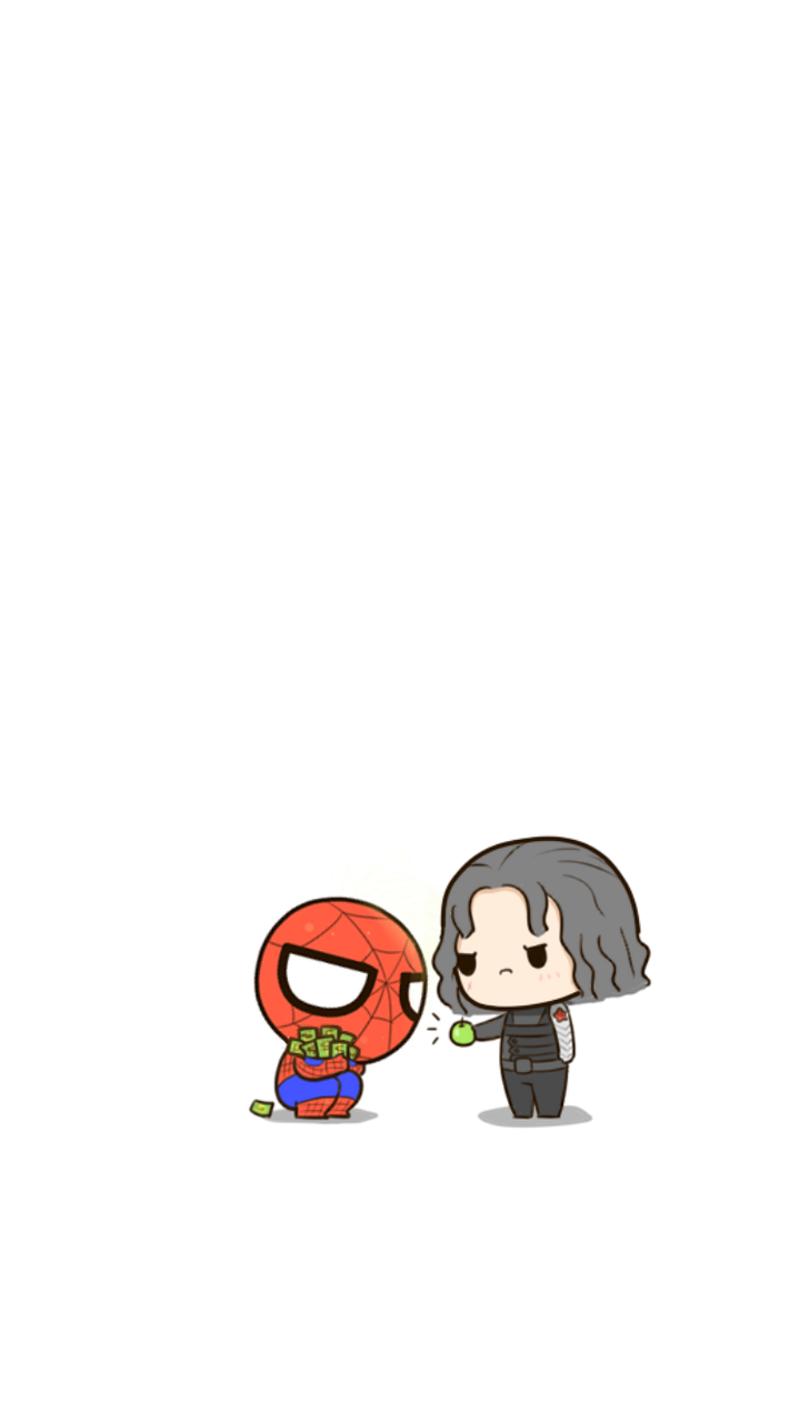 spider-man, bucky, Marvel and aesthetic
