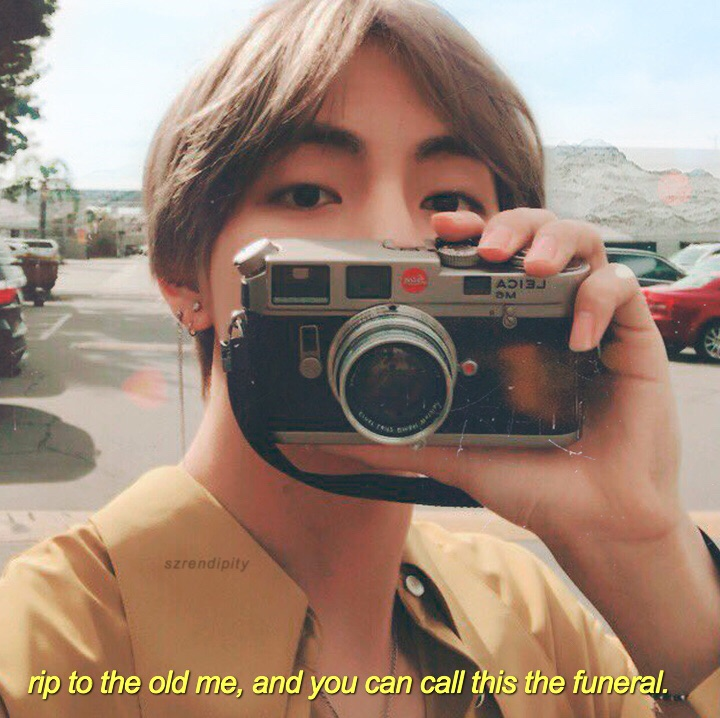 bts aesthetic, sad, rip and life quotes