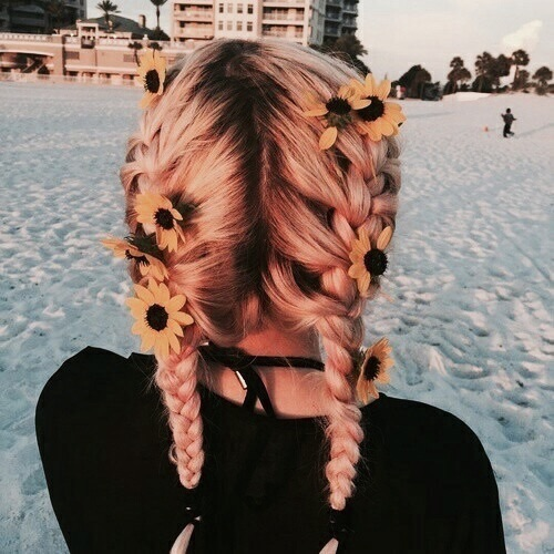 boho, golden hour, hairstyles and summer
