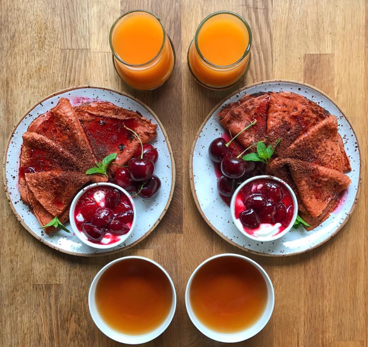 couple, lifestyle, delicious and symmetry breakfast
