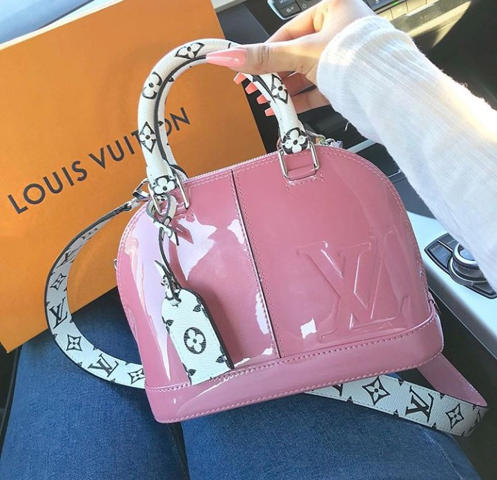 beauty, ?louisvuitton, pink and bag