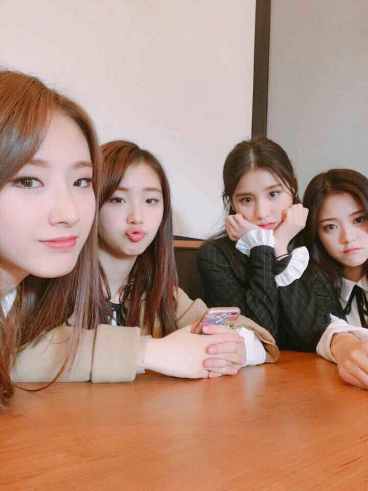 yeonjin, kpop, haseul and yves