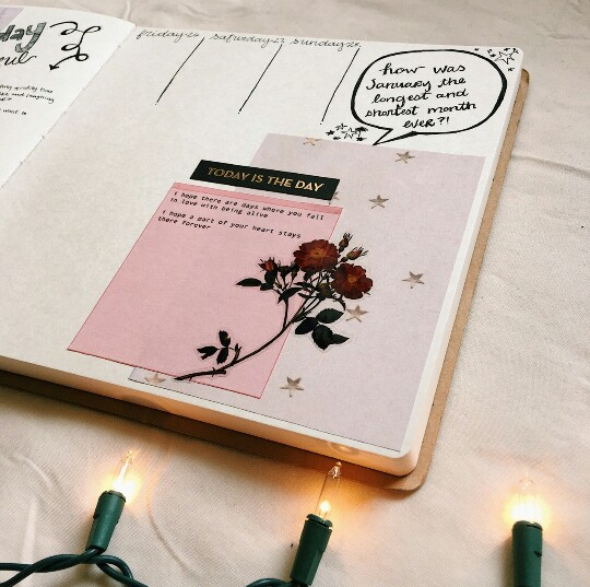 bullet journal, creative, writing and tumblr