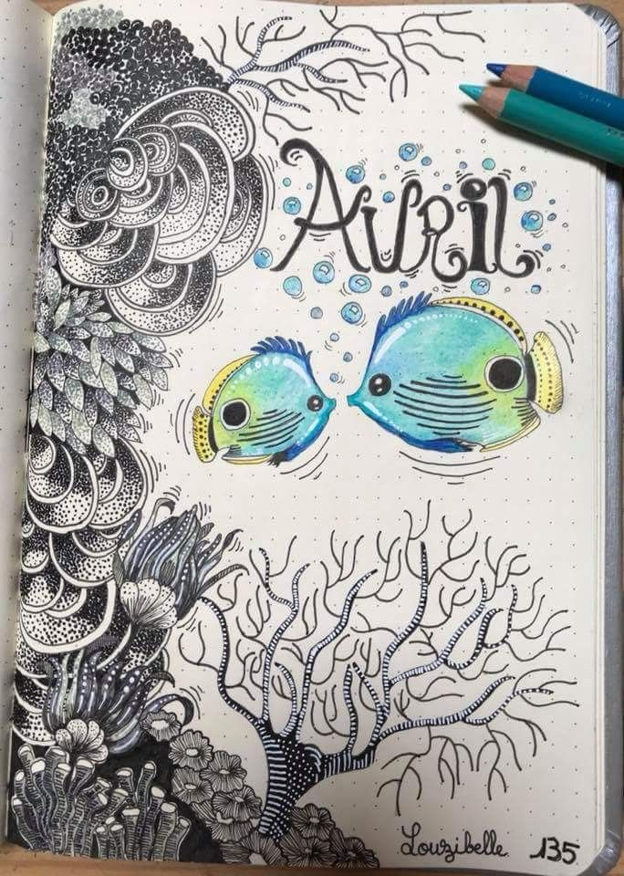 bullet journal, diy, march and art