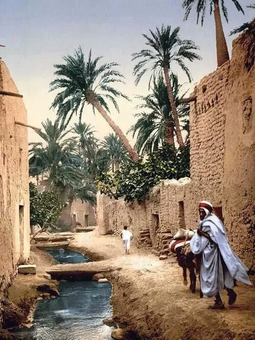 village, africa, photography and beige