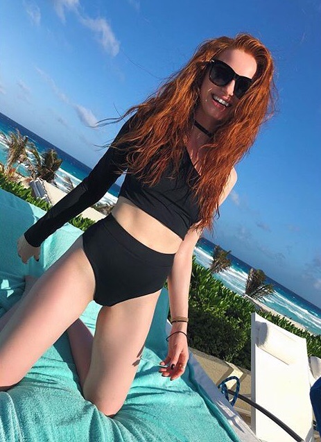 madelaine petsch, actress, beautiful and spring