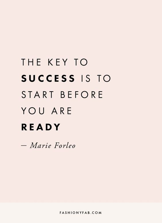 quote, success, marie and forleo