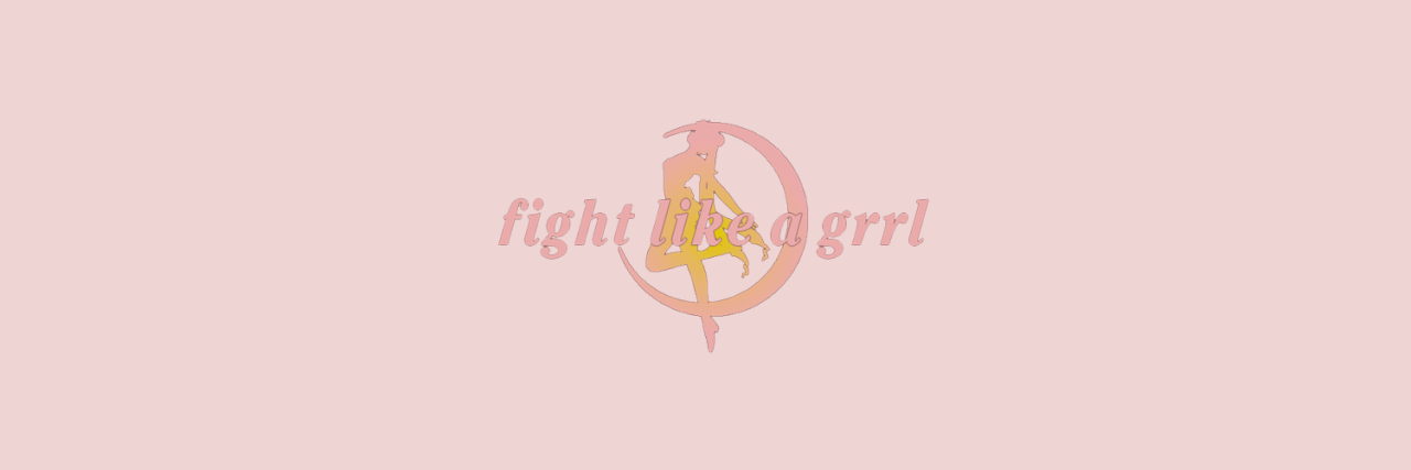 fight like a girl, moon, header and manga