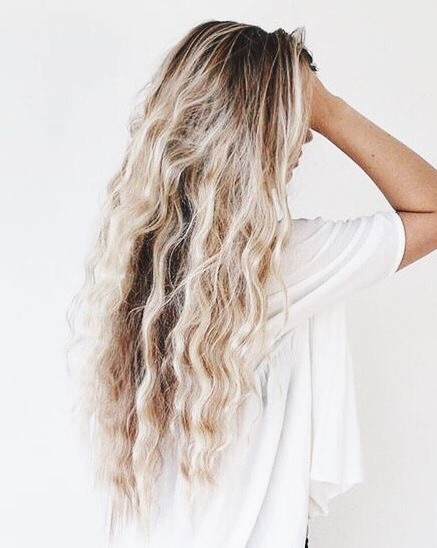long hair, hairstyle, ombre and curly