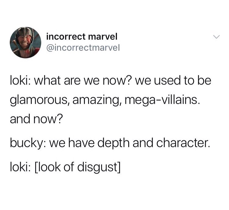 bucky, incorrect quotes, infinity war and funny
