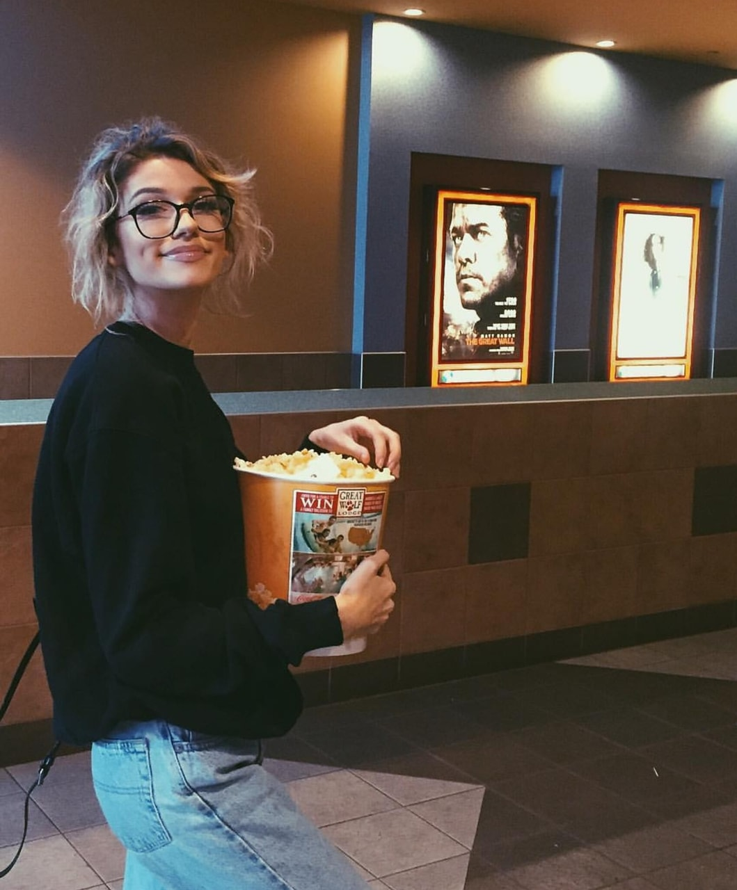 theatre, jeans, date and beauty