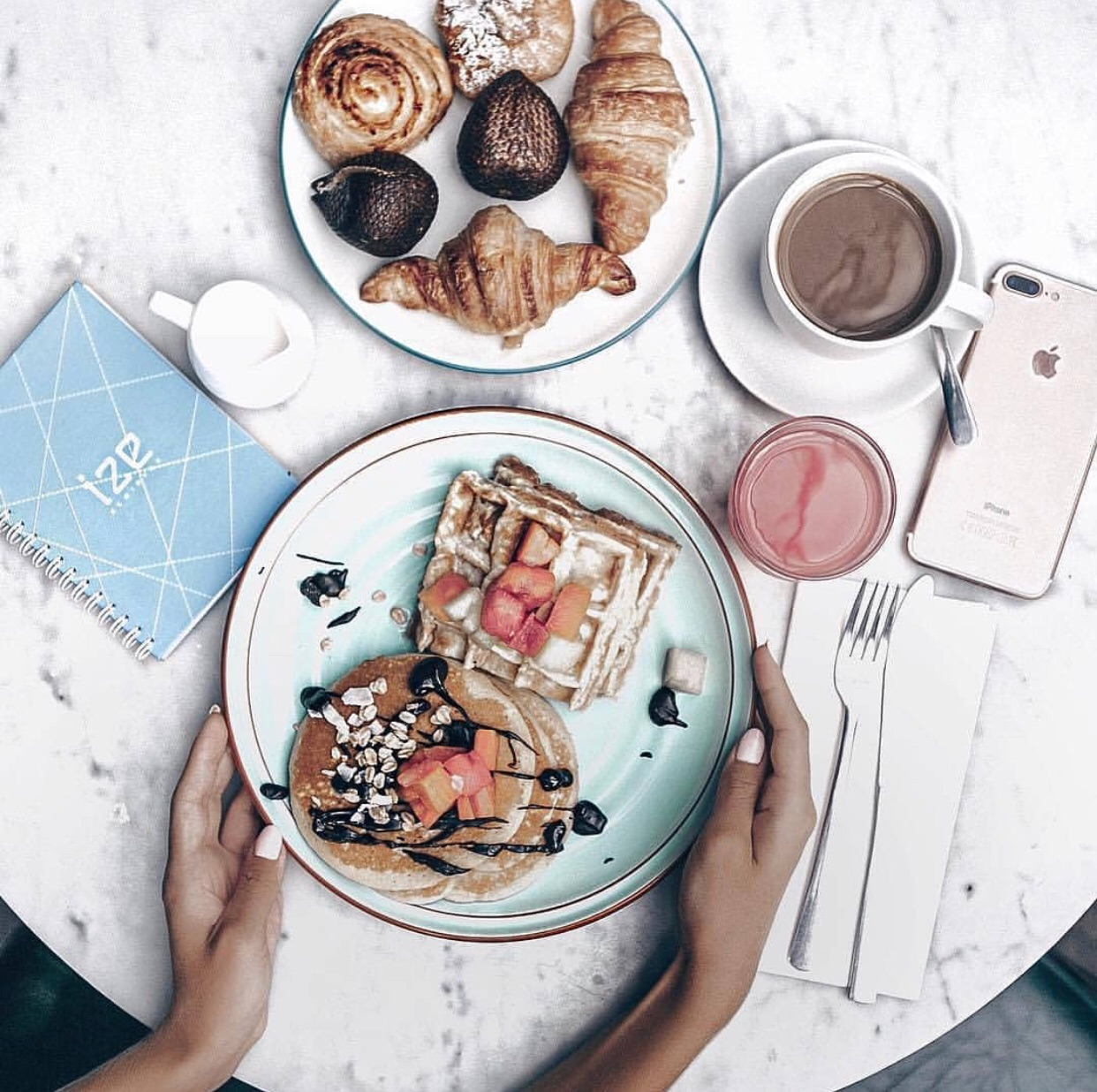 food, love, drink and sweet