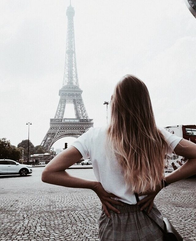 blonde, paris, france and ombre