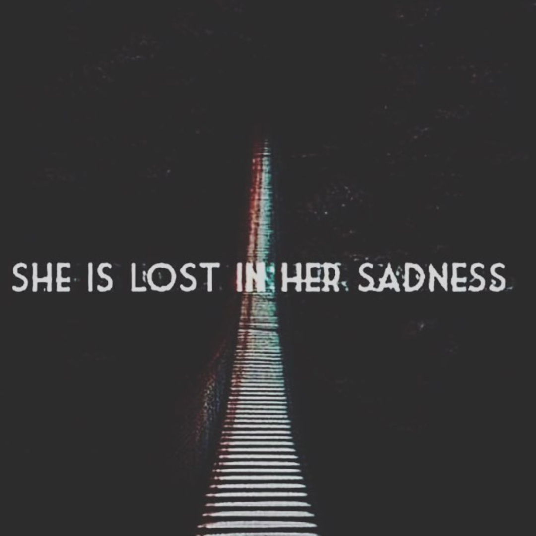 girl, in, lost and she