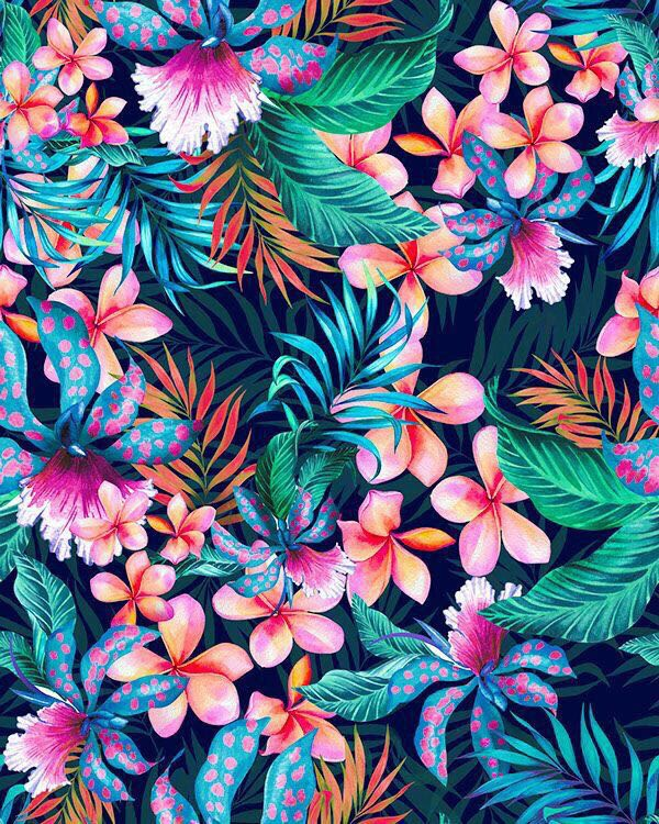 spring, wallpaper, color and flower