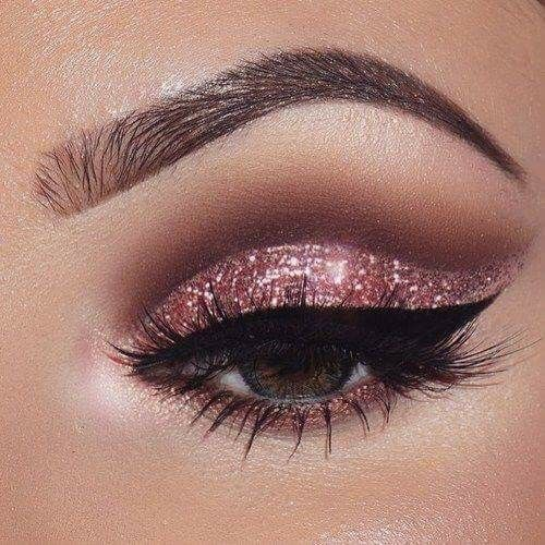 eyes, glitter, makeup and shine