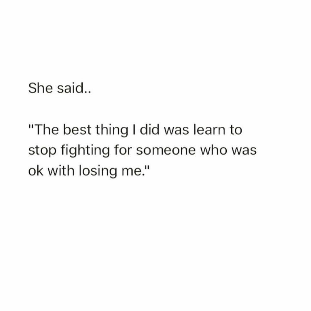 fight, be yourself, quotes and lesson