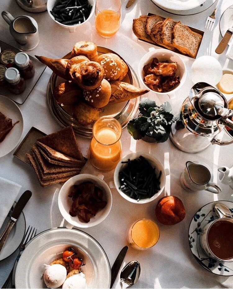 brunch, french, aesthetic and tea