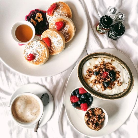 coffee, food, delicious and pancakes