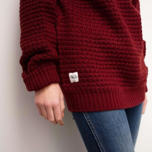 fashion, red, sweater and person