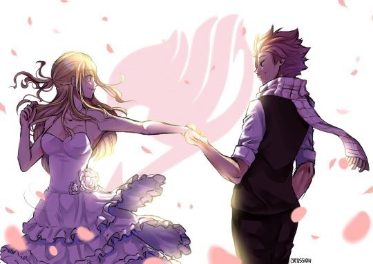 fairy tail, couple, love and natsu x lucy