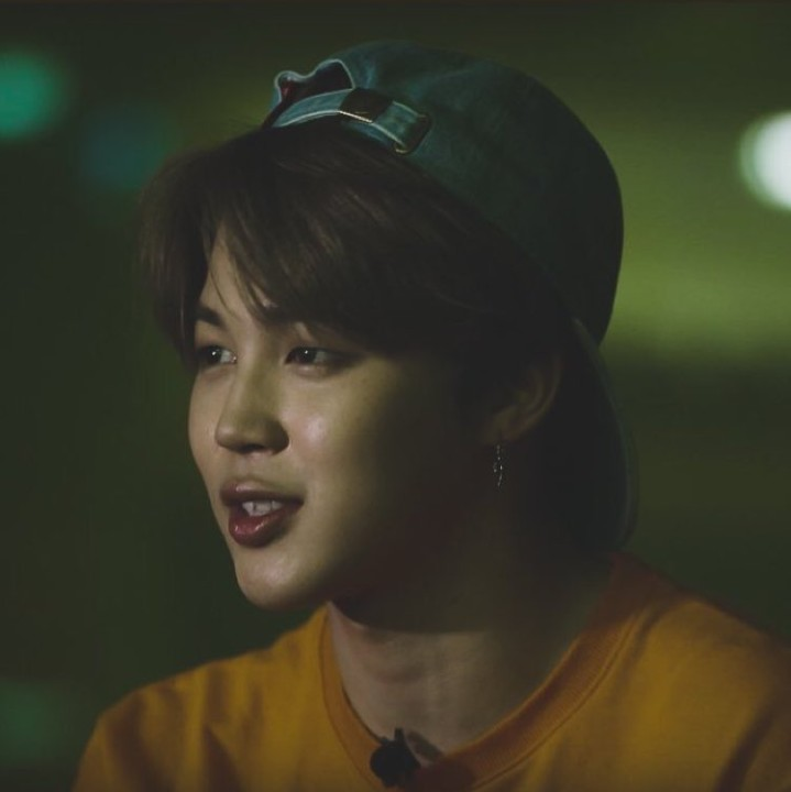bts, green, hat and idol