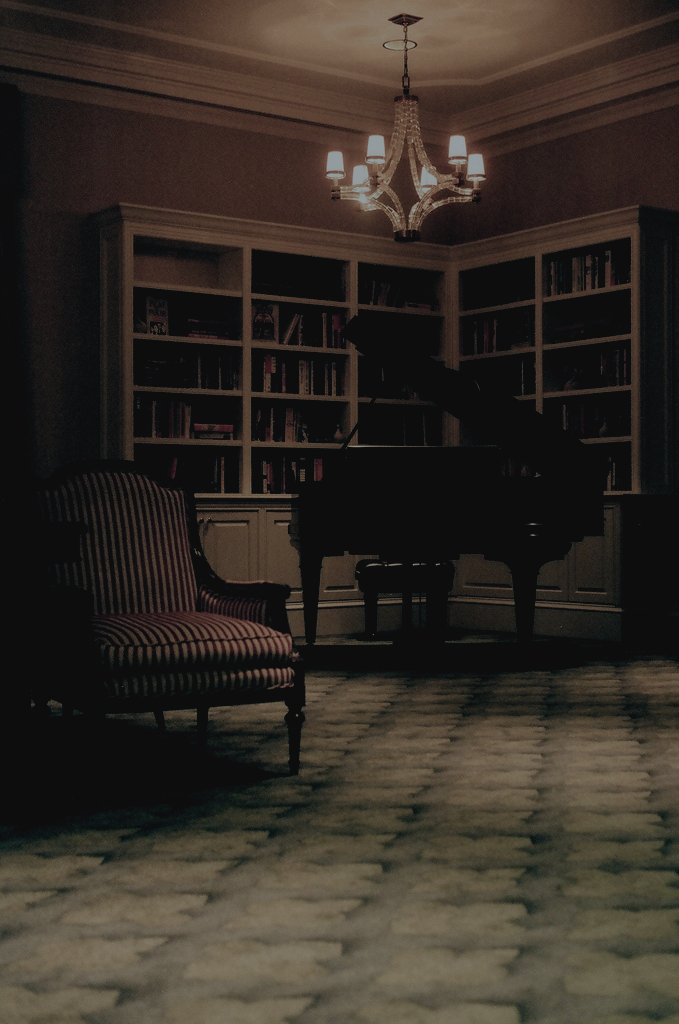 books, piano, library and room