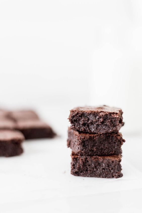 brownies, fudge, dessert and delicious
