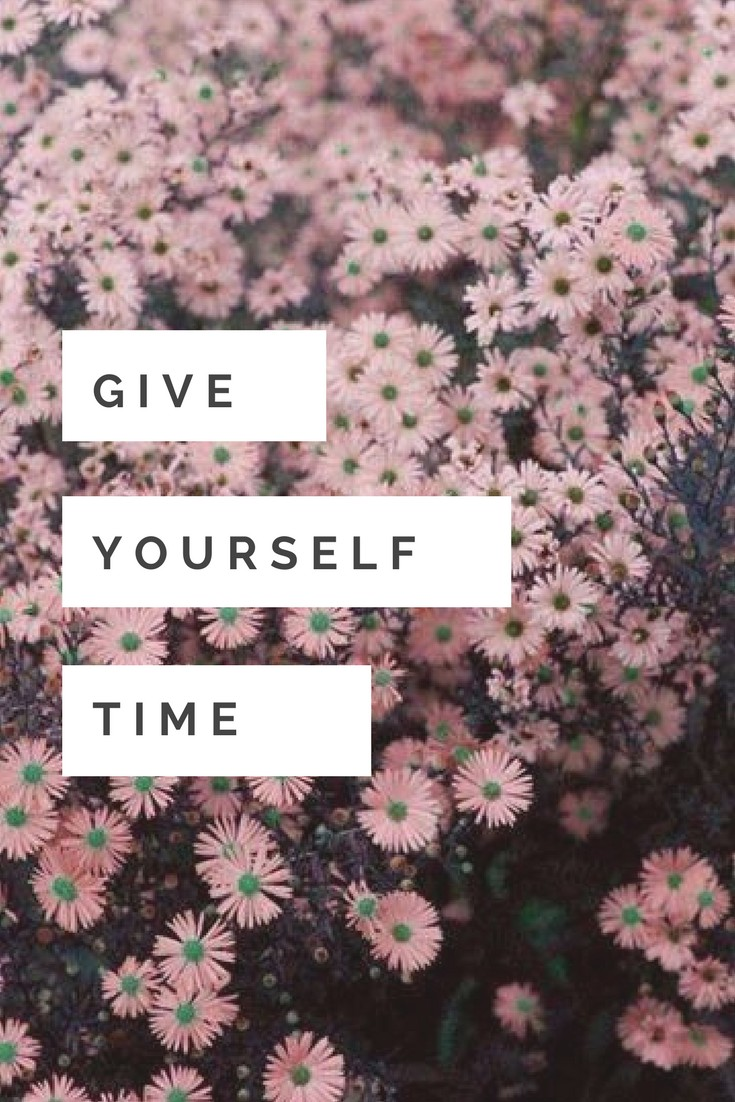 lovely, wallpaper, give time and keep going