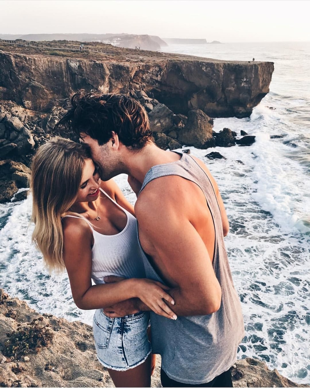 nature, tumblr, couple and together