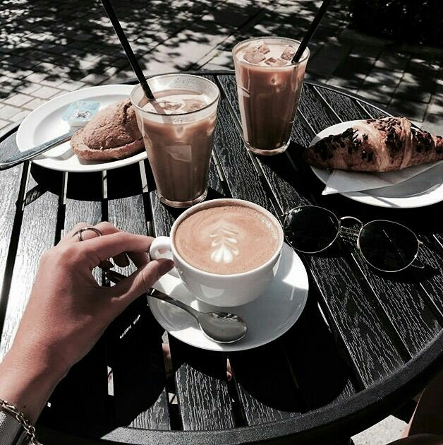 aesthetic, drinks, fashion and morning