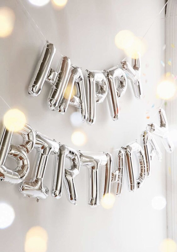 balloons, inspiration, happy birthday and birthday