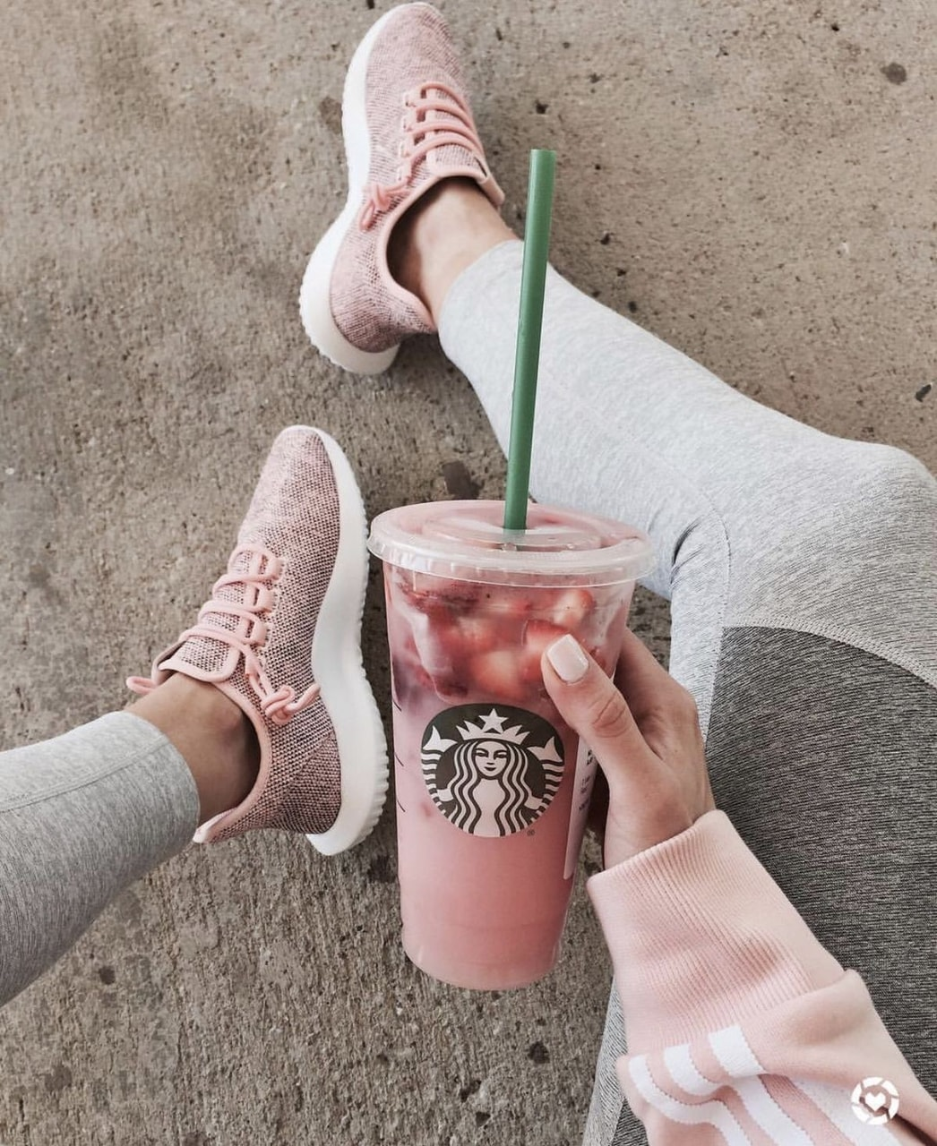 aesthetic, strawberry, yummy and fitness