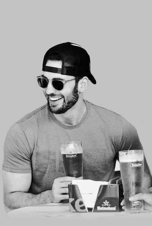 wallpaper, black and white and chris evans