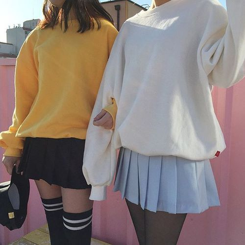 body, ulzzang, couple. friends and girls