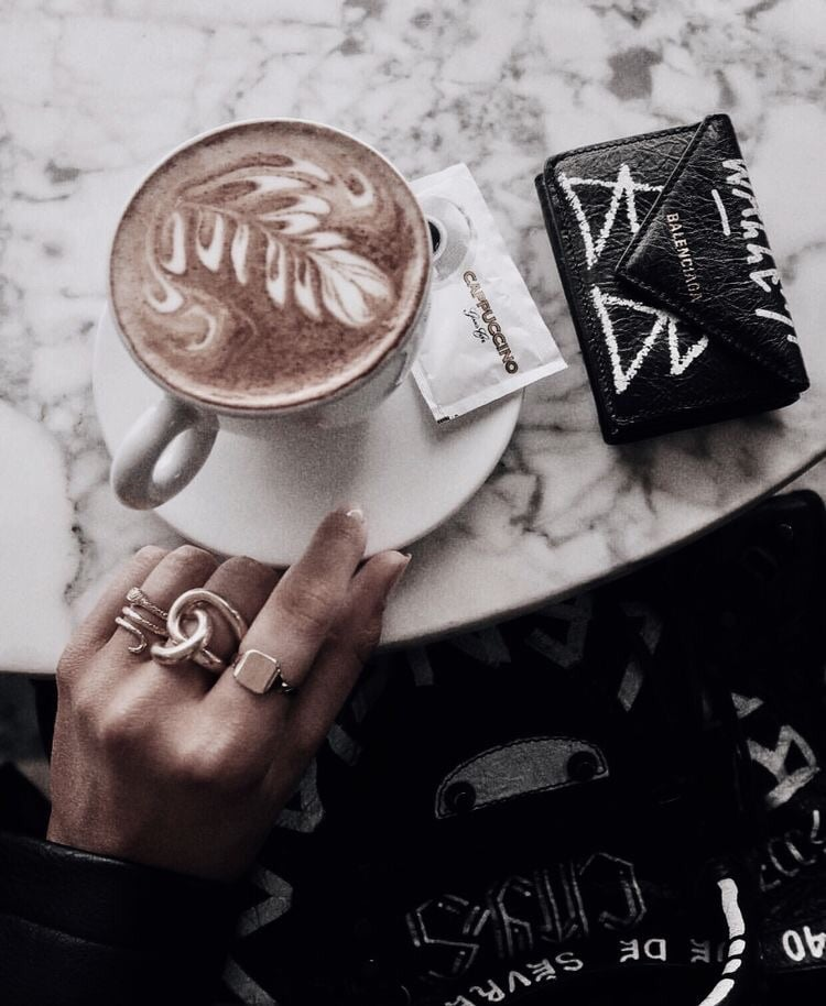 cafe, gold, diamonds and coffee