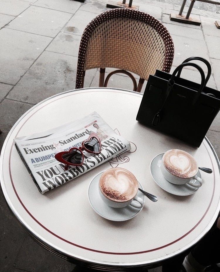 coffee time, aesthetic, sunglasses and accessories