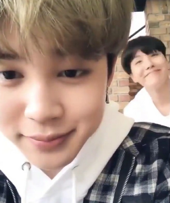 cute, jihope, low quality and bfs